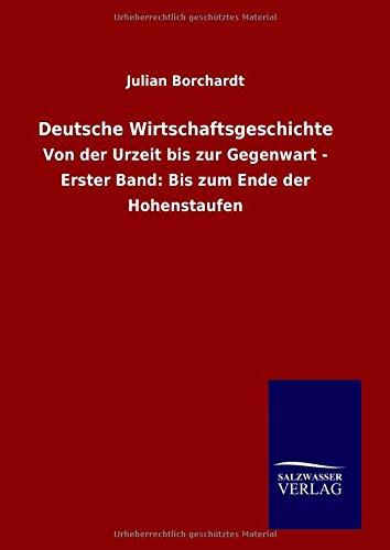 9783846067185: Deutsche Wirtschaftsgeschichte