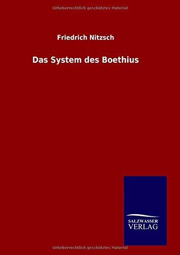 9783846074480: Das System des Boethius (German Edition)