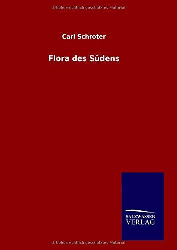 9783846082256: Flora des Südens (German Edition)