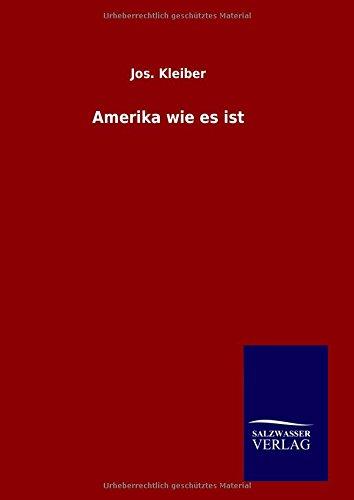 9783846083680: Amerika wie es ist