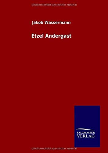9783846084496: Etzel Andergast (German Edition)