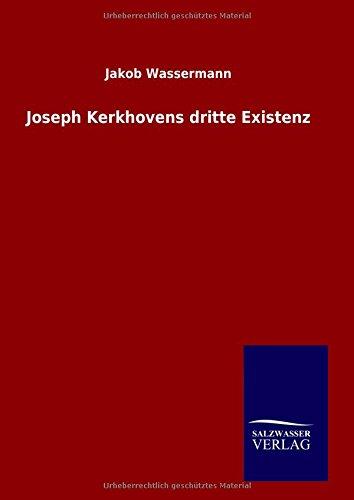 9783846084731: Joseph Kerkhovens dritte Existenz
