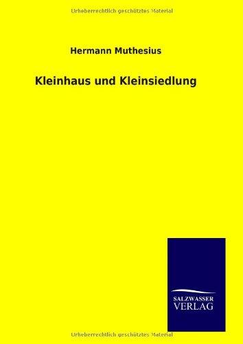9783846093474: Kleinhaus und Kleinsiedlung