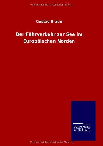 9783846094259: Der Fährverkehr zur See im Europäischen Norden