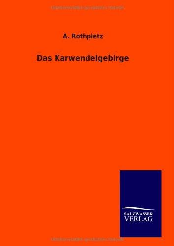 9783846094532: Das Karwendelgebirge