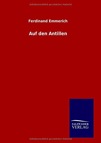 9783846099490: Auf den Antillen (German Edition)