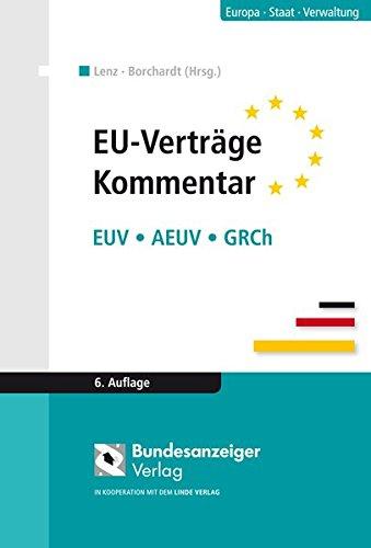 EU-Verträge. Kommentar: Joachim Bitterlich