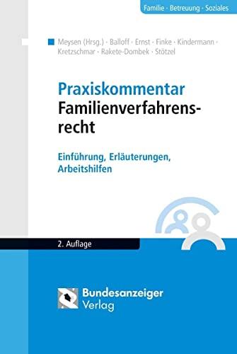 Praxiskommentar Familienverfahrensrecht: Rainer Balloff