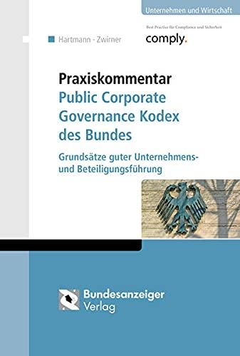 Praxiskommentar Public Corporate Governance Kodex des Bundes: Simone Hartmann