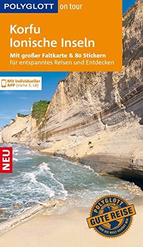 9783846428597: POLYGLOTT on tour Reiseführer Korfu/Ionische Inseln: Mit großer Faltkarte und 80 Stickern für die individuelle Planung