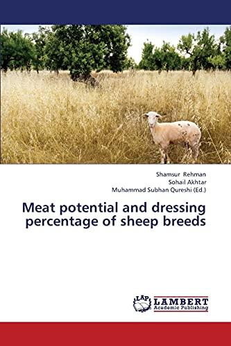 9783846511985: Meat potential and dressing percentage of sheep breeds