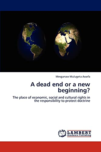 9783846514337: A dead end or a new beginning?: The place of economic, social and cultural rights in the responsibility to protect doctrine