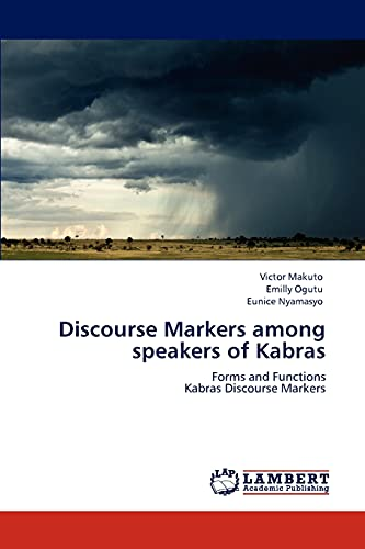 9783846515648: Discourse Markers Among Speakers of Kabras