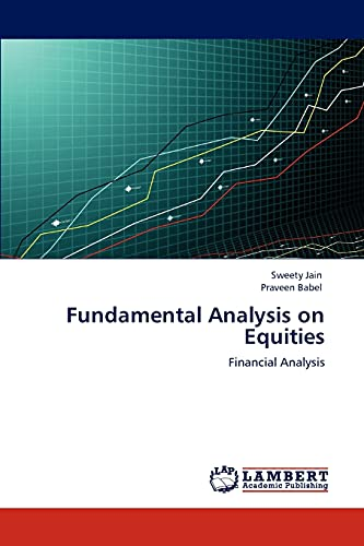 9783846536896: Fundamental Analysis on Equities: Financial Analysis