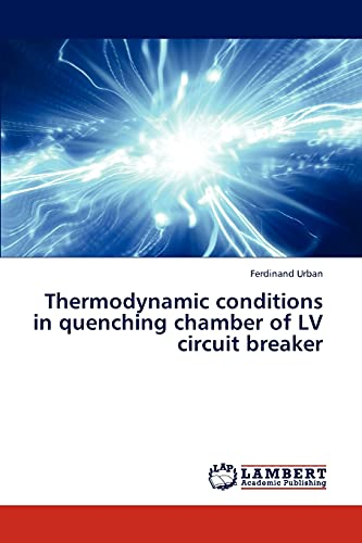 9783846539231: Thermodynamic conditions in quenching chamber of LV circuit breaker
