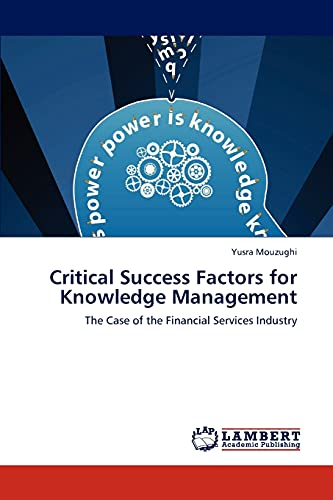 9783846542446: Critical Success Factors for Knowledge Management