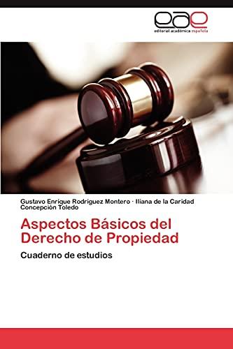 9783846560983: Aspectos Básicos del Derecho de Propiedad: Cuaderno de estudios (Spanish Edition)