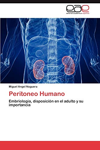 9783846562079: Peritoneo Humano: Embriología, disposición en el adulto y su importancia (Spanish Edition)