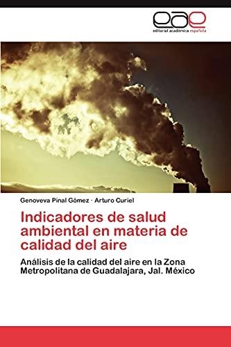 Indicadores de Salud Ambiental En Materia de: Genoveva Pinal G