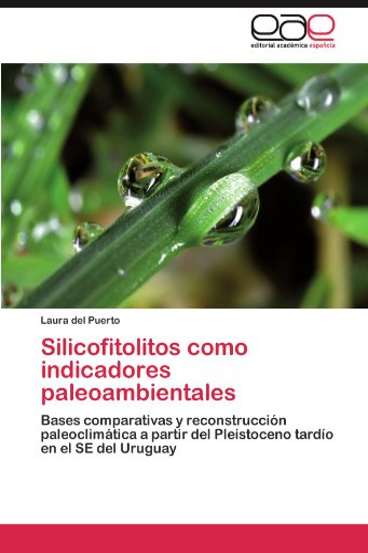 9783846566602: Silicofitolitos como indicadores paleoambientales: Bases comparativas y reconstrucción paleoclimática a partir del Pleistoceno tardío en el SE del Uruguay (Spanish Edition)