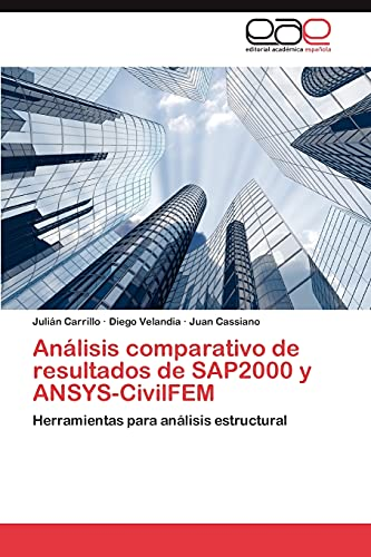Analisis Comparativo de Resultados de Sap2000 y: Carrillo Julian