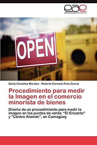 Procedimiento Para Medir La Imagen En El Comercio Minorista de Bienes: Dunia González Morales
