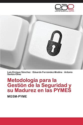Metodología para la Gestión de la Seguridad: Sánchez, Luis Enrique
