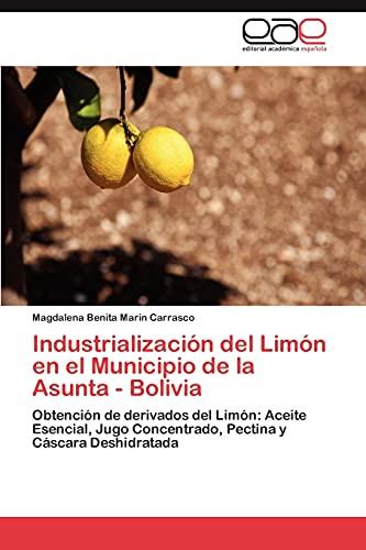 Industrialización del Limón en el Municipio de: Marin Carrasco, Magdalena