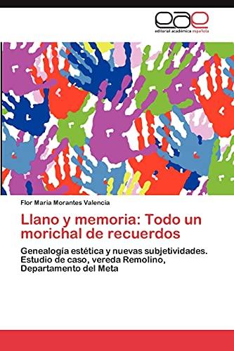 Llano y Memoria: Todo Un Morichal de Recuerdos: Flor Maria Morantes Valencia