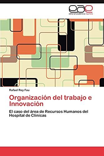 9783846572085: Organización del trabajo e Innovación