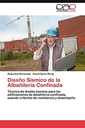 9783846573396: Diseño Sísmico de la Albañilería Confinada
