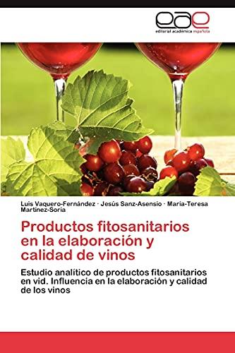 9783846574010: Productos fitosanitarios en la elaboración y calidad de vinos