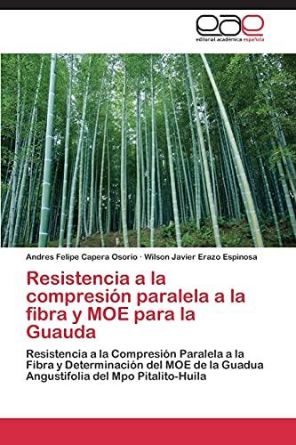 Resistencia a la compresión paralela a la fibra y MOE para la Guauda: Resistencia a la Compresión ...