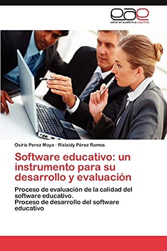 9783846577950: Software educativo: un instrumento para su desarrollo y evaluación