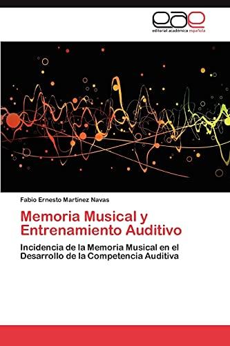 9783846578346: Memoria Musical y Entrenamiento Auditivo
