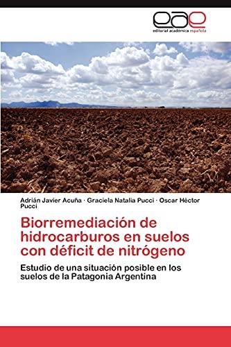 9783846579213: Biorremediación de hidrocarburos en suelos con déficit de nitrógeno: Estudio de una situación posible en los suelos de la Patagonia Argentina (Spanish Edition)