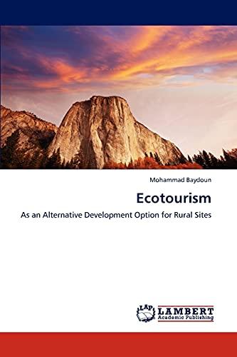 Ecotourism: Mohammad Baydoun