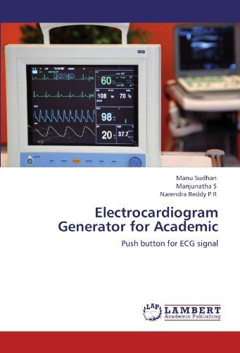 9783846593707: Electrocardiogram Generator for Academic: Push button for ECG signal
