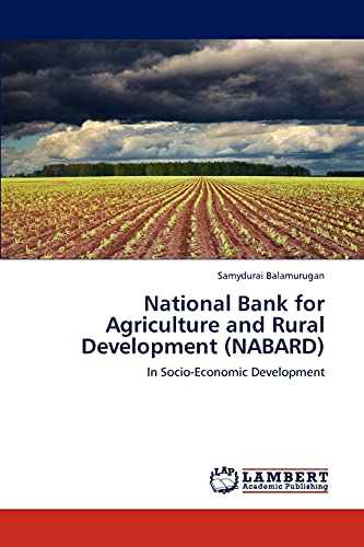National Bank for Agriculture and Rural Development (Nabard): Samydurai Balamurugan