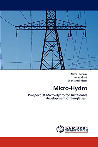 9783846597200: Micro-Hydro: Prospect Of Micro-Hydro for sustainable development of Bangladesh