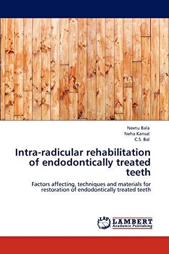 Intra-Radicular Rehabilitation of Endodontically Treated Teeth: Neha Kansal