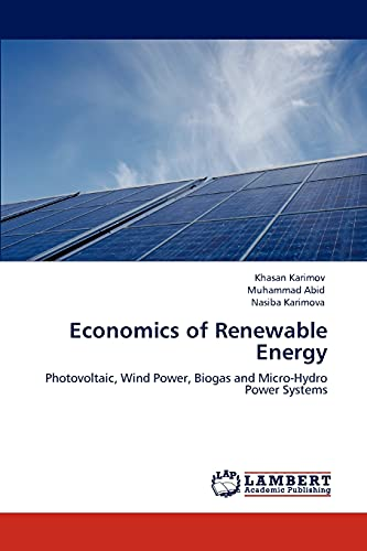 Economics of Renewable Energy: Khasan Karimov, Muhammad