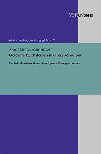 Goldene Buchstaben ins Herz schreiben: Arndt Elmar Schnepper