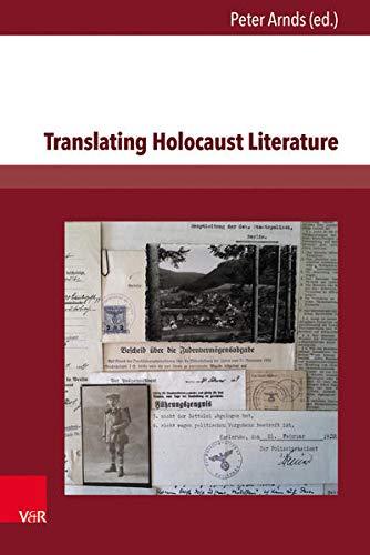 9783847105015: Translating Holocaust Literature
