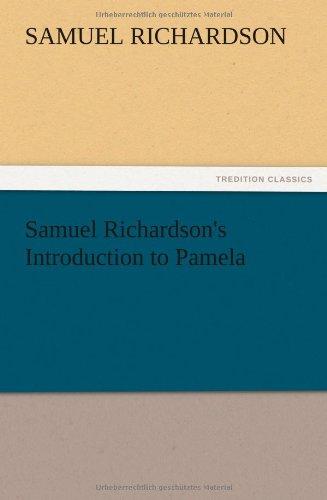 9783847212928: Samuel Richardson's Introduction to Pamela