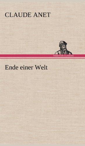 9783847242383: Ende Einer Welt (German Edition)
