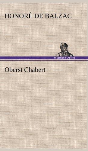 9783847243366: Oberst Chabert