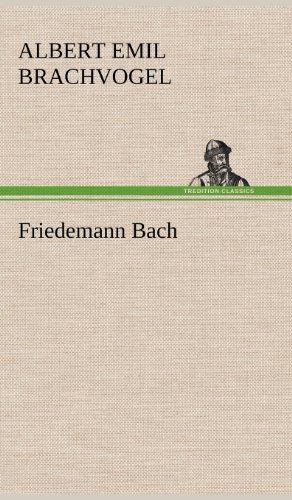 9783847244493: Friedemann Bach (German Edition)