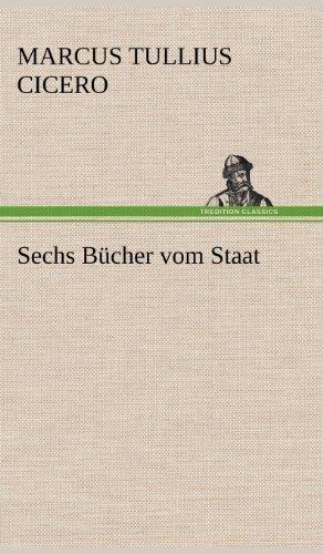 9783847245346: Sechs Bucher Vom Staat (German Edition)