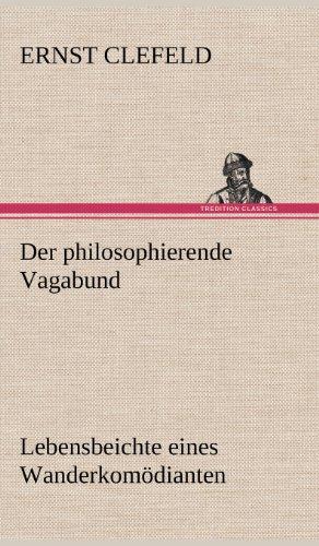 9783847245407: Der philosophierende Vagabund
